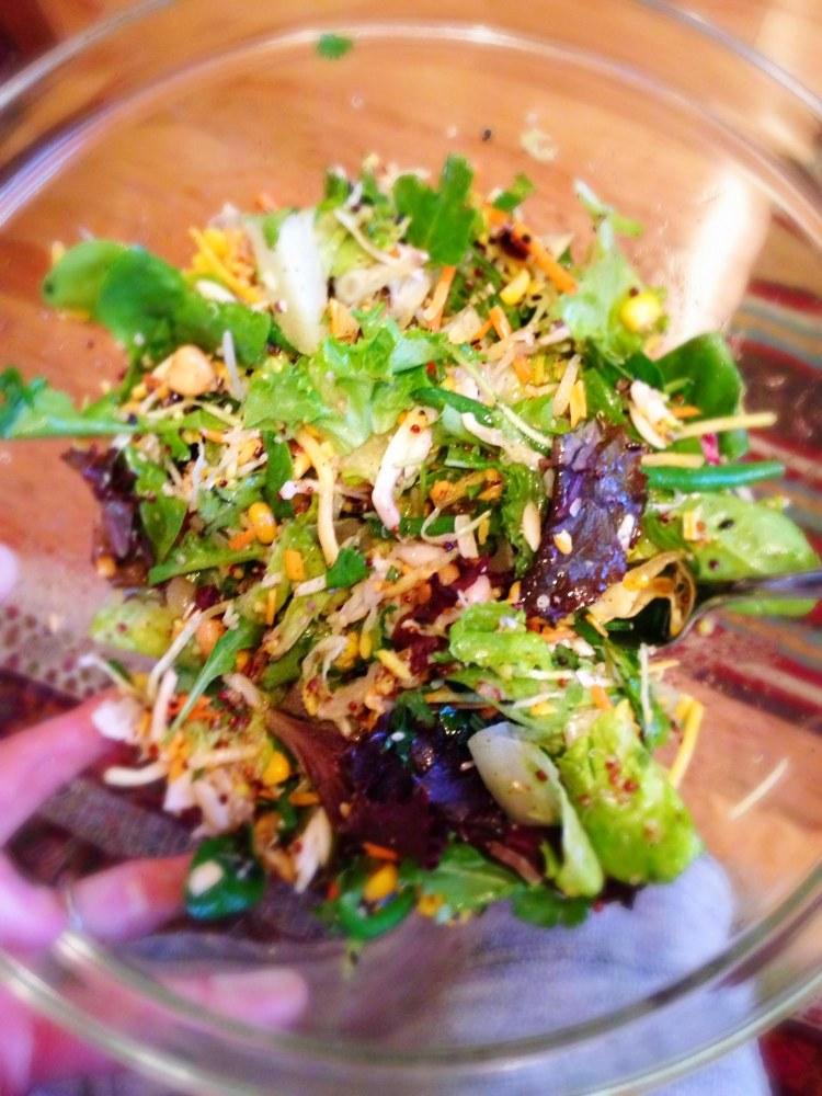 SaladOutofJar