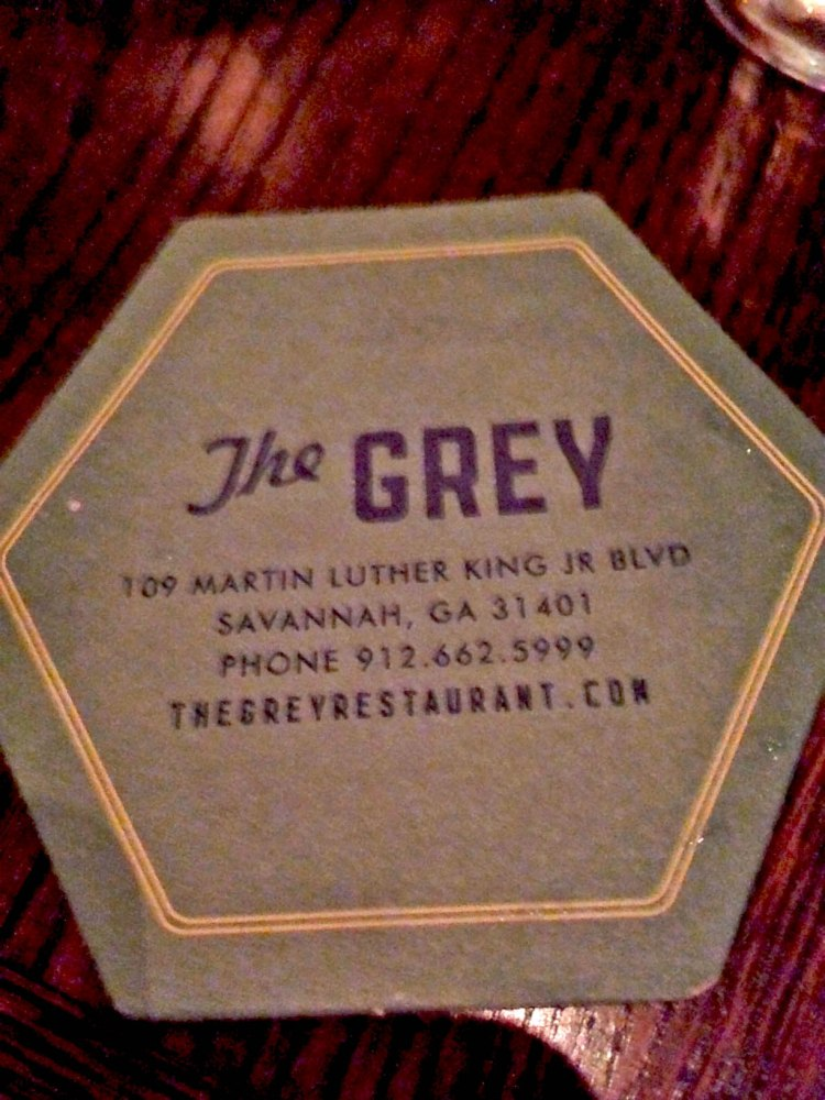 The Grey coaster